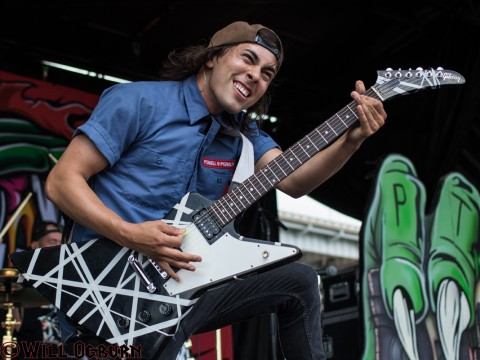 Vic Fuentes, Pierce the Veil (Will Ogburn photo)