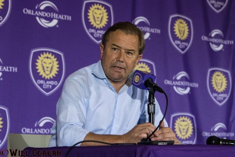 Head Coach - Adrian Heath (photo Will Ogburn)