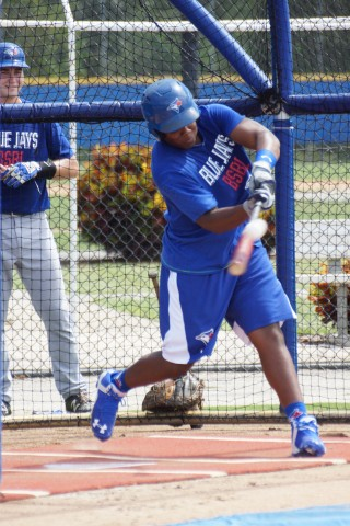 Vladimir Guerrero Jr.  (EDDIE MICHELS PHOTO)