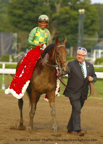 Keen Ice with Javier Castellano (Amber Chalfin / Down the Stretch Photos)
