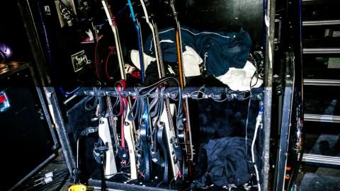 Nikkis bass cabinet