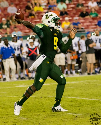 Quinton Flowers was 17 of 26 for 199 yards with a TD and one pick.