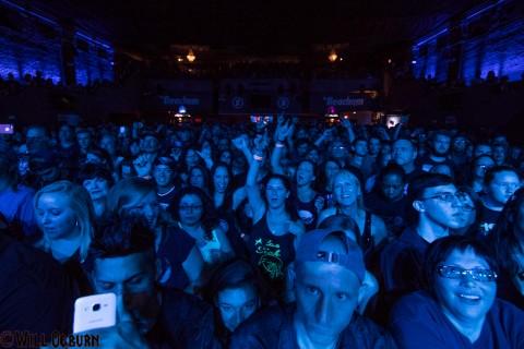 Pop Evil crowd (Will Ogburn photo)
