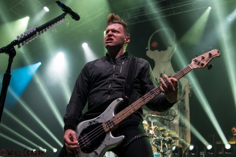 Brad Walst - Three days Grace (photo by Will Ogburn)