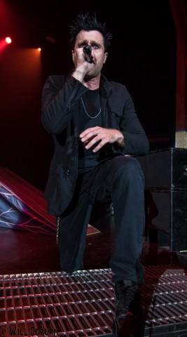 Matt Walst - Three Days Grace (photo by Will Ogburn)