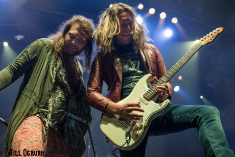 Danny Worsop (left) and Jeff George (photo by Will Ogburn)