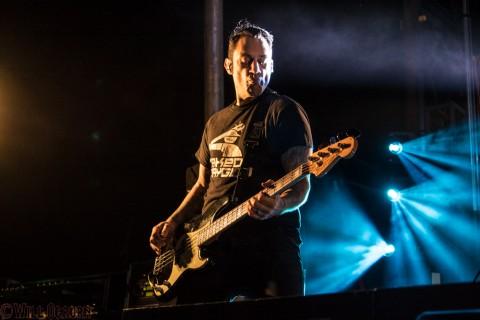 Joe Principe - Rise Against (photo Will Ogburn)