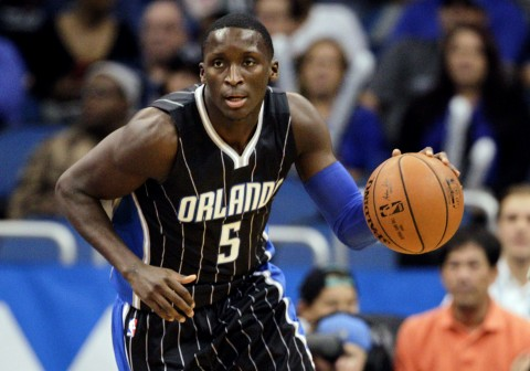 Victor Oladipo hit 13 of his 24 from the charity stripe to lead the Magic in scoring. (photo Reinhold Matay / USA TODAY Sports)