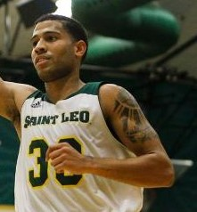 Marcus Dewberry lead all scorers with 33 points. (Saint Leo Athletics)