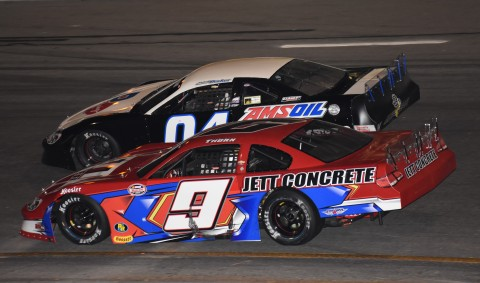 Brad May (9) finished 15th behind Natalie Decker who finished 14th. (photo Rodeny Meyering / RSEN)