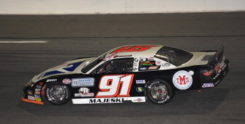 Ty Majeski took 2nd place behind Steve Wallace (photo Rodney Meyering / RSEN)