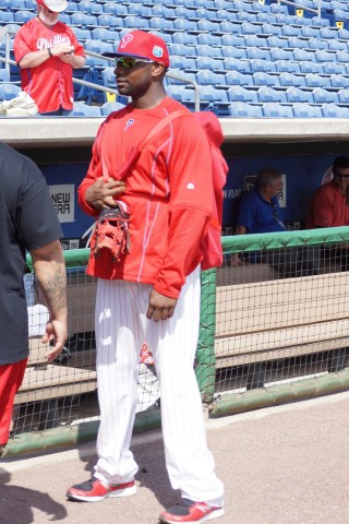 Ryan Howard Chats with Fans (EDDIE MICHELS PHOTO)