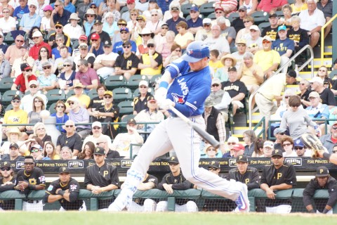 Justin Smoak himers (EDDIE MICHELS PHOTO