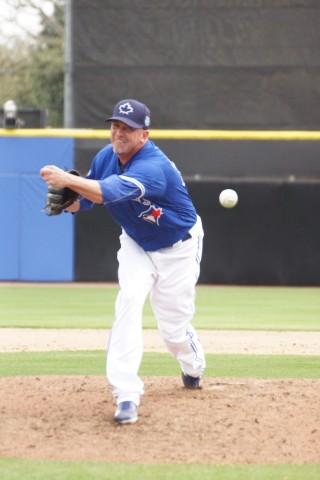 Randy Choate Makes First Appearence as a Blue Jay Goes 1/3 InninG (EDDIE MICHELS PHOTO)