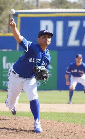 Roberto Osuna gets the save. (EDDIE MICHEL PHOTO)