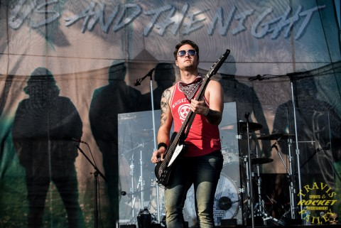 Justin Biltonen 3 Doors Down (Photo-Travis Failey)