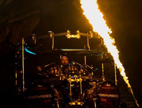 Mike Wengren Disturbed (Photo-Travis Failey)