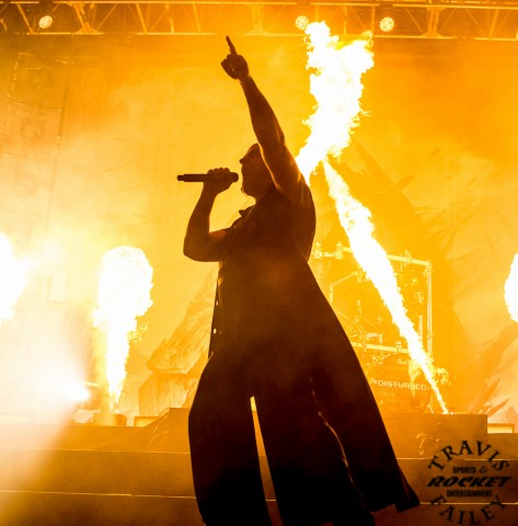 David Draiman Disturbed (Photo-Travis Failey)