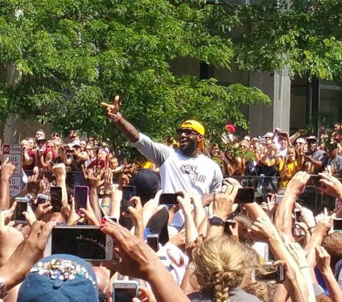 Lebron James (photo by JJ Jackson)