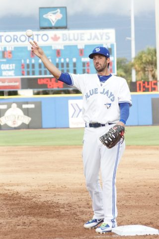 Colabello Playing First (EDDIE MICHELS PHOTO)