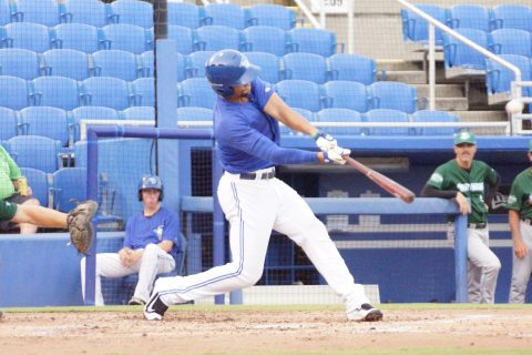 Prospect Josh Almonte Doubles to Left Center/RBI (EDDIE MICHELS PHOTO)