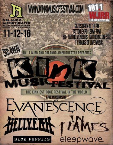 KINK FESTIVALS - 2016