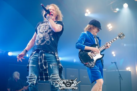 Brian Johnson & Angus Young (Mark MacGauley Photography)