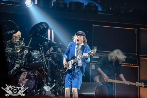Angus Young & Cliff Williams (Mark McGauley Photography)
