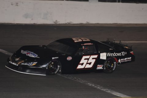 Dalton Sargeant finished third. (photo Travis Failey)