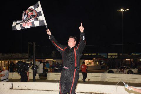 Rocket Sports & Entertainment Network favorite Stephen Nasse wins emotional Hart Foundation Race. (photo Rodney Meyering)
